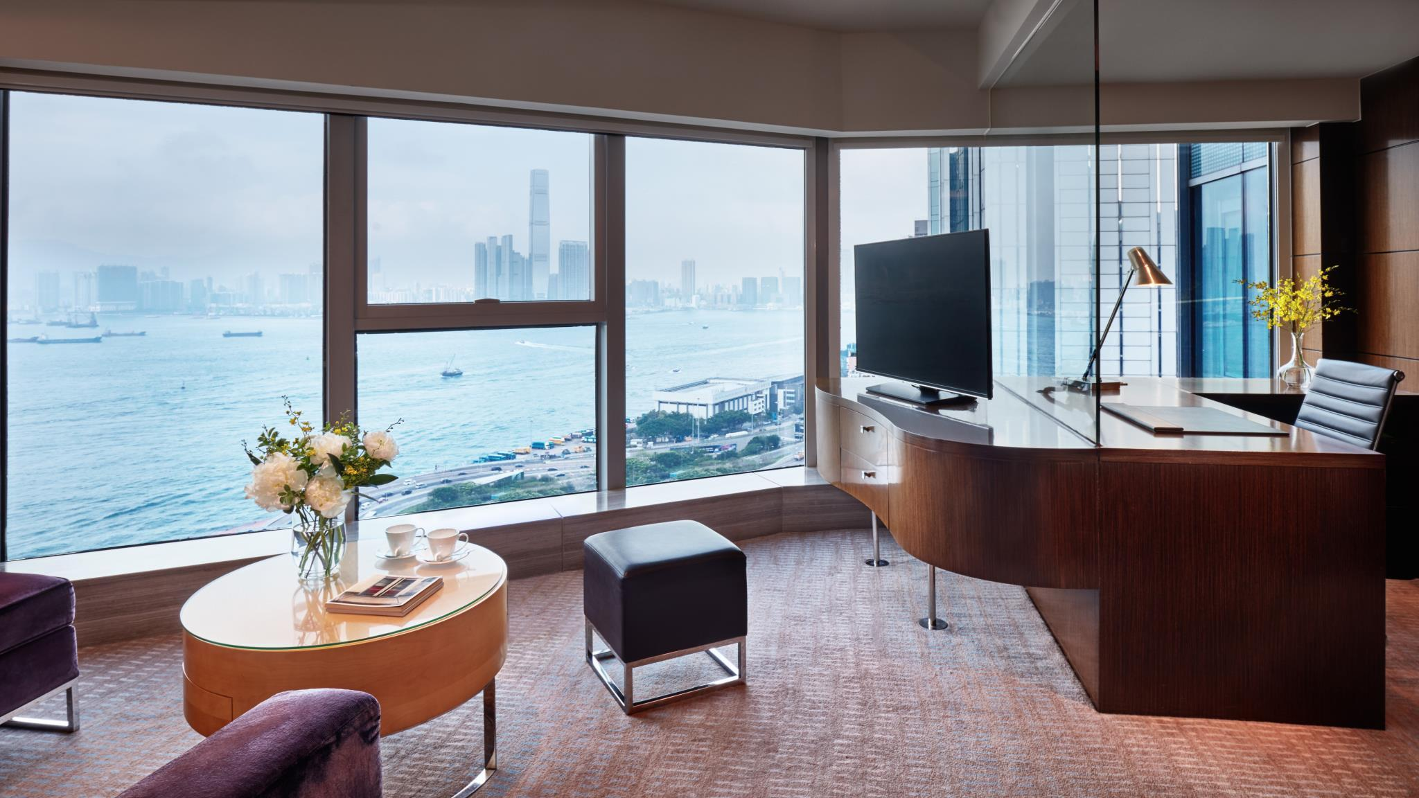 Executive Suite, 1 Bedroom Suite, 1 King, Harbor view