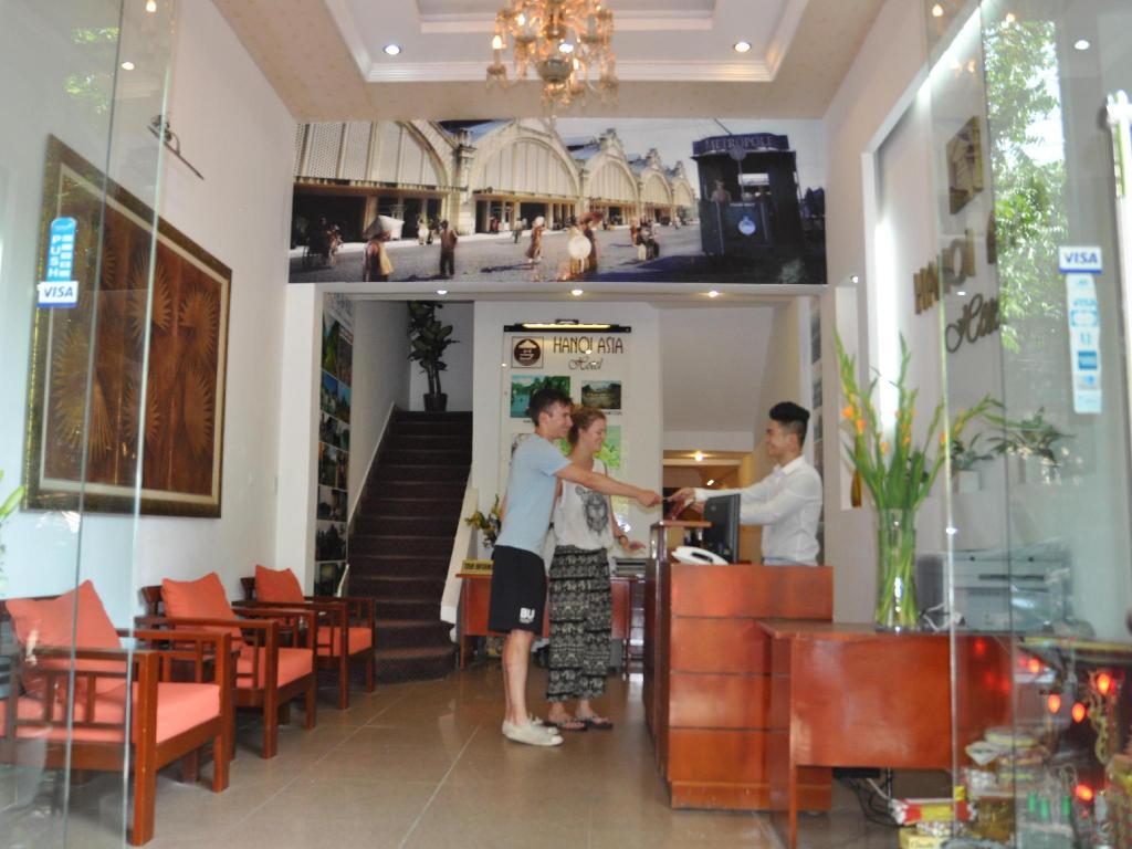 Lobby Hanoi Little Center Hotel