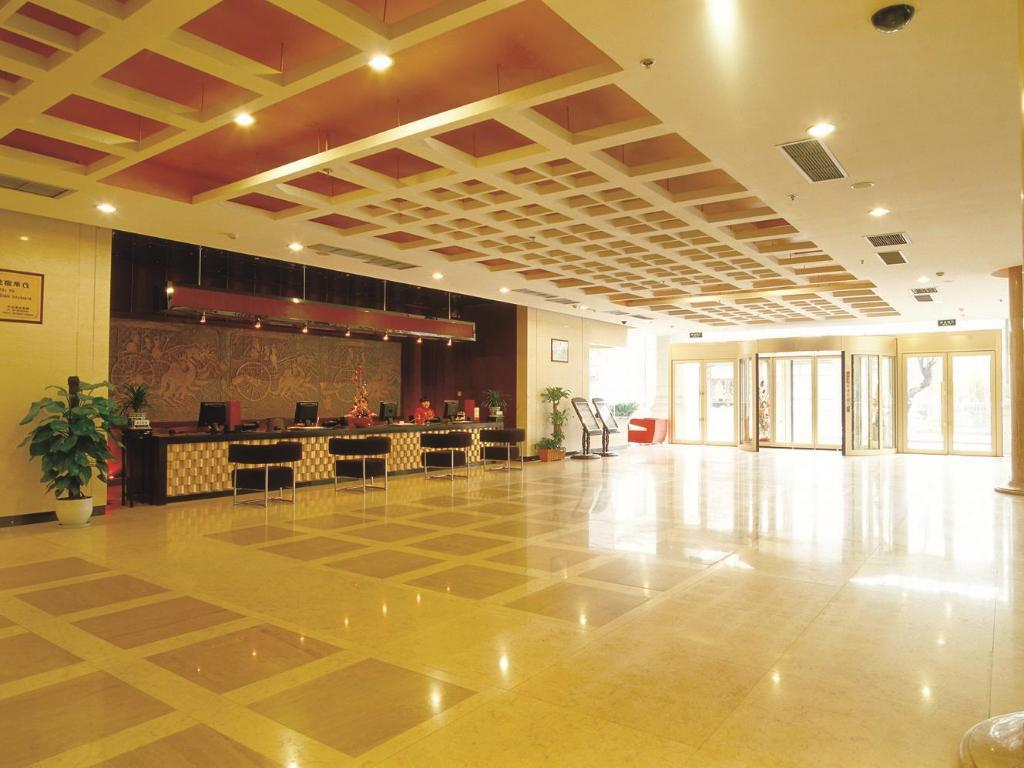 Лоби Xian Union Alliance Atravis Executive Hotel