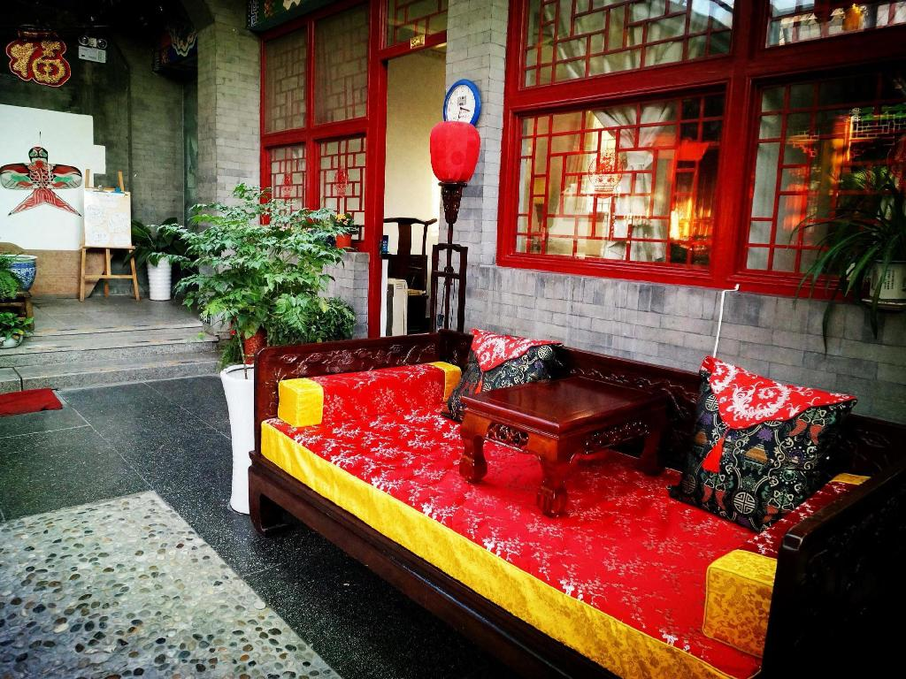 Vedere exterior Templeside Deluxe Hutong House Hotel