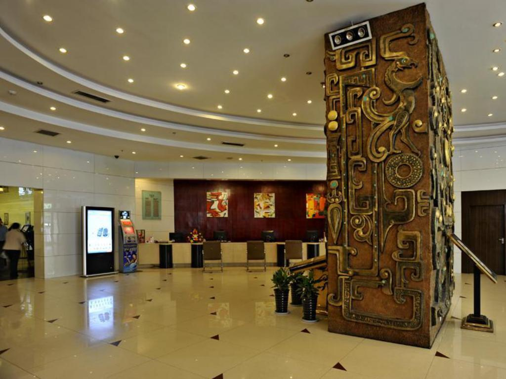 Lobi Xian HNA Business Hotel Downtown