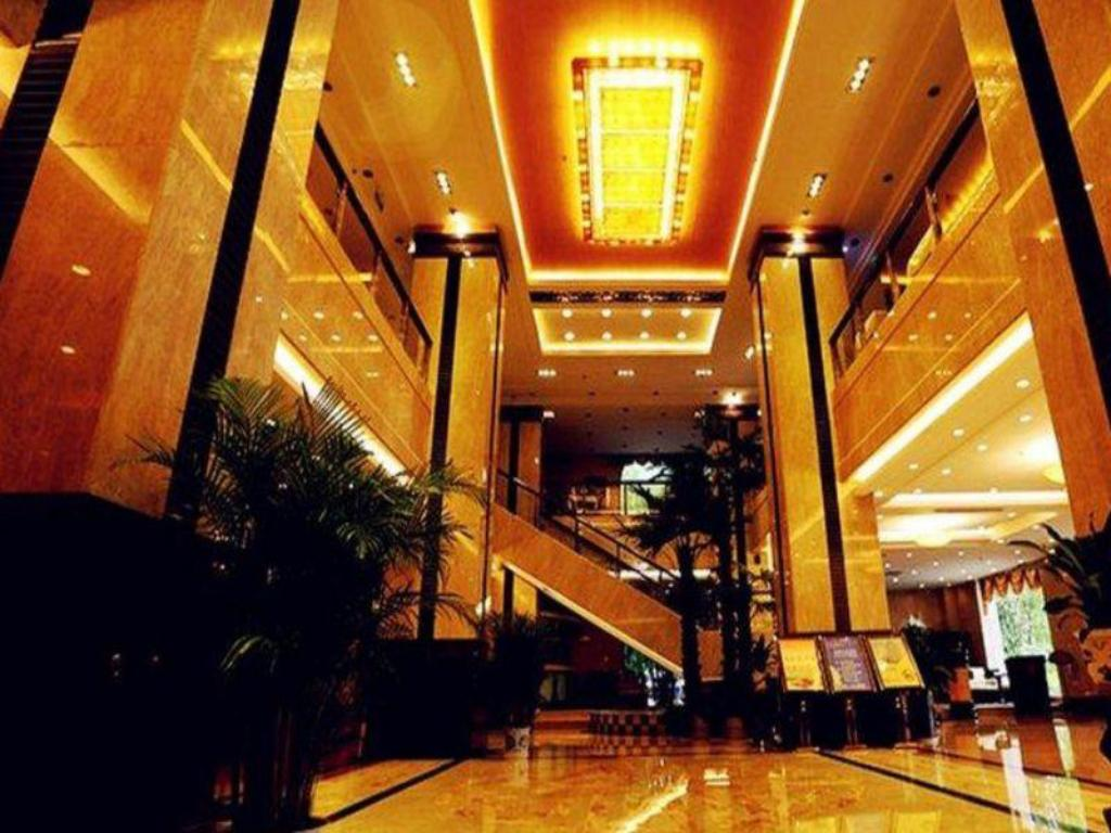 Tampilan interior Tong Da International Hotel