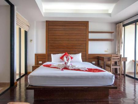 VIP Deluxe klases Suite numurs Chaweng Lakeview Condotel Hotel
