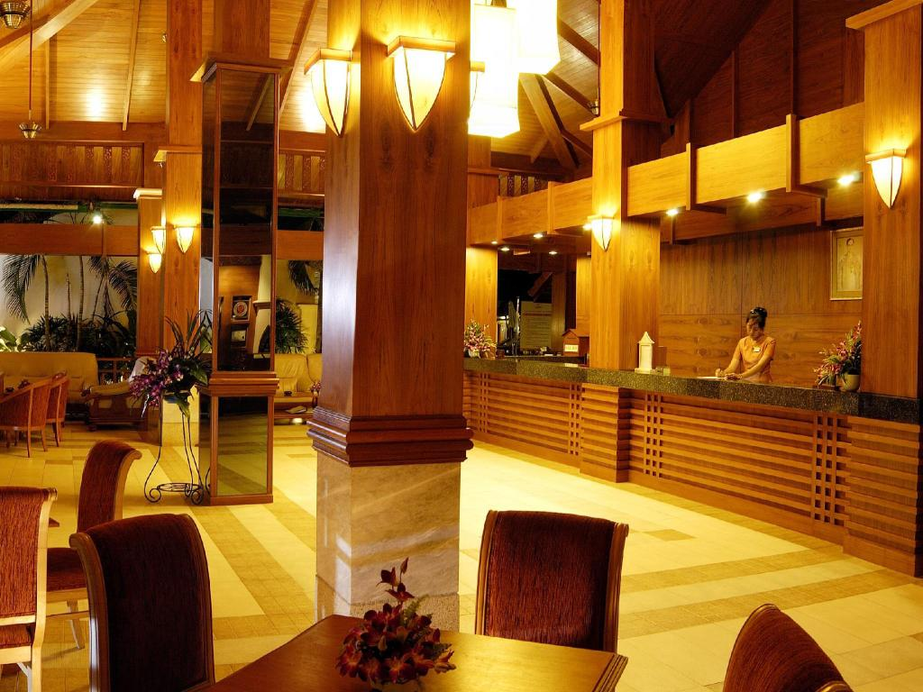 Лобби Horizon Patong Beach Resort & Spa