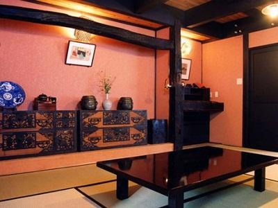 日式房-带露天浴池 (Japanese Room with Open-Air Bath)