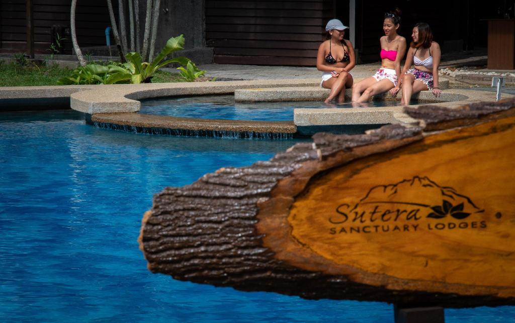 Swimming pool [outdoor] Sutera Sanctuary Lodges at Manukan Island