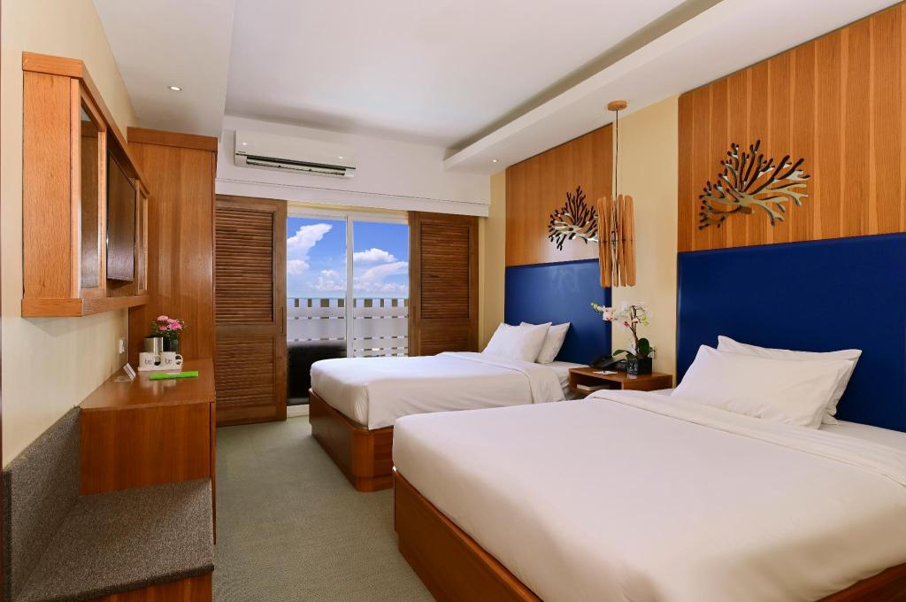 Be Chic Double Room - View Be Resorts Mactan