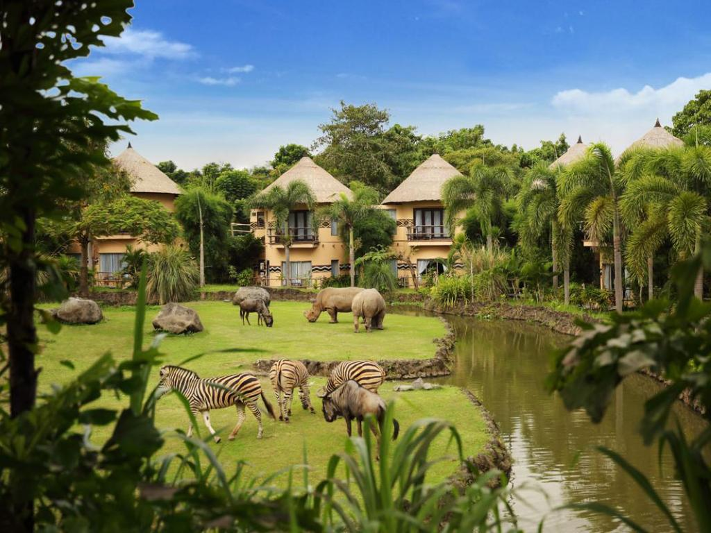 馬拉河遠征旅館 (Mara River Safari Lodge Hotel)