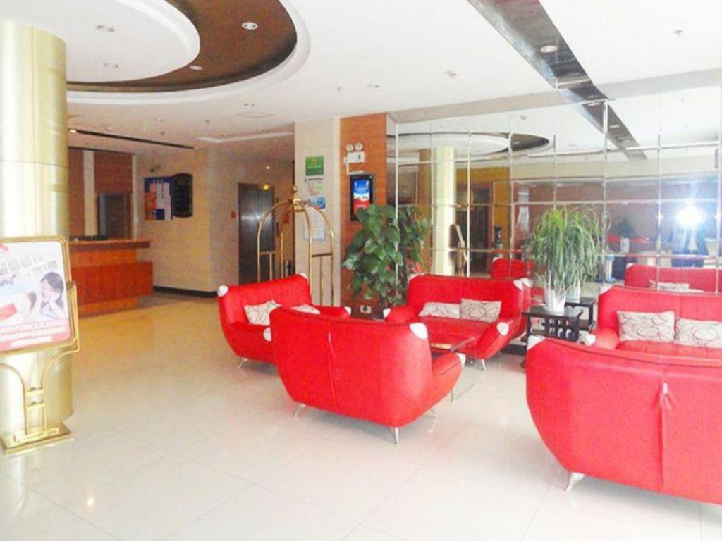 Lobby Yiting 6+e Hotel Shanghai Pudong Ave Branch