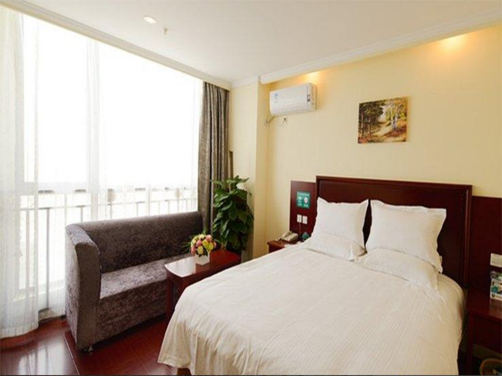 Business King Room - Domestic residents only - Bed Greentree Anhui Hefei Tongda Road Wanhuan Shopping Plaza Business Hotel
