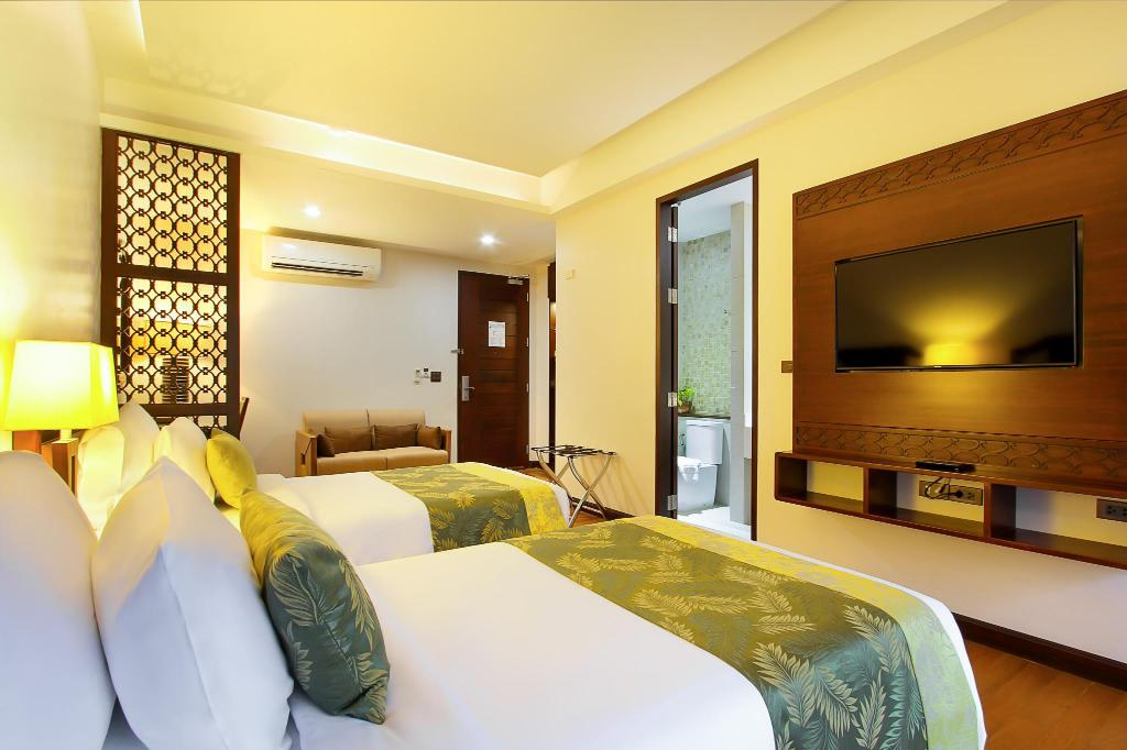 Deluxe Twin Room - Guestroom D Varee Diva Rimnaam Chanthaburi