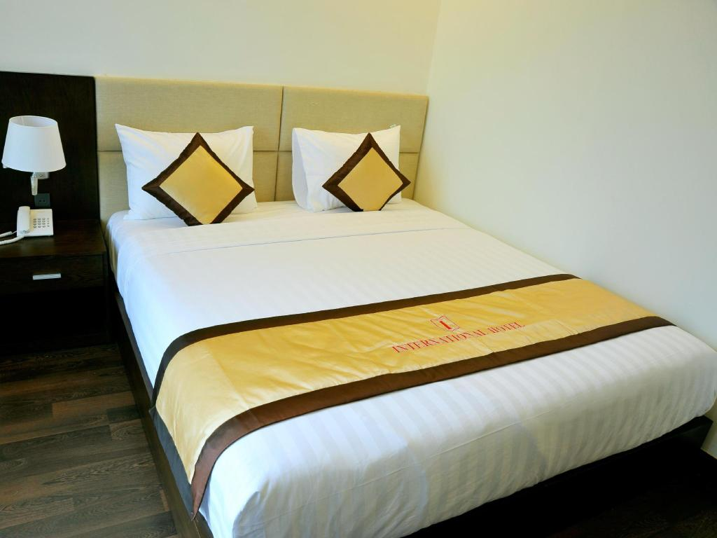 Superior Double - Tempat tidur International Hotel