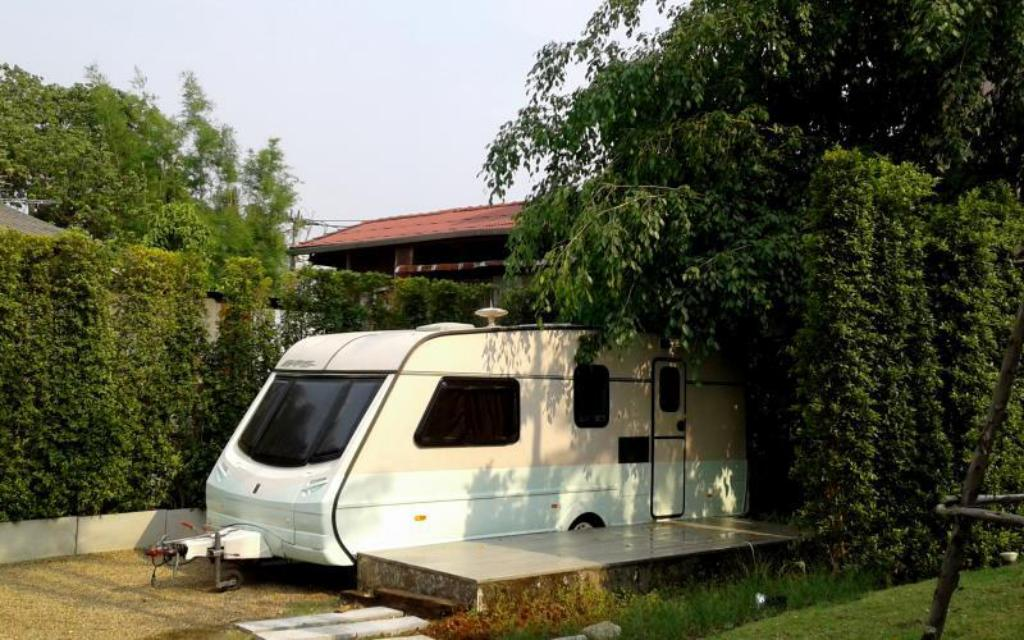 Caravan with Private Bathroom