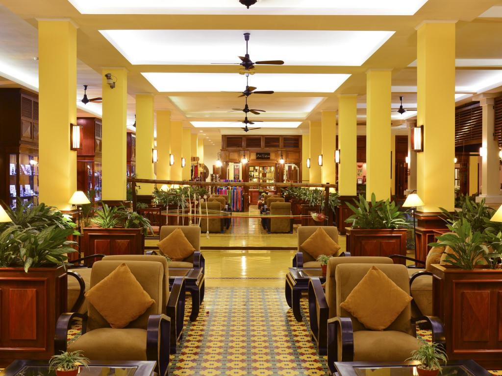 Lobby Victoria Can Tho Resort