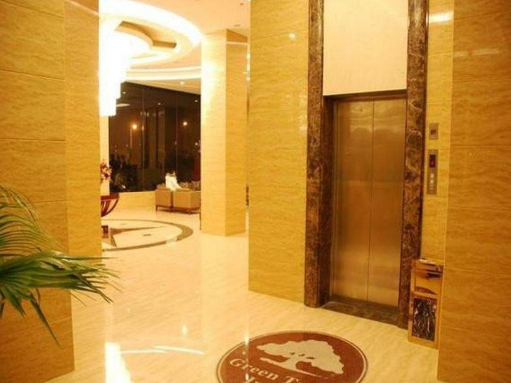 Empfangshalle GreenTree Inn Chuzhou Dingyuan Chengdong New District Business Hotel