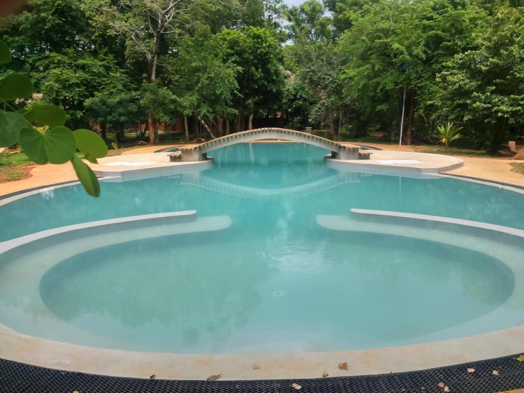 Best price on kuwera eco lodge in sigiriya reviews for Environmentally sustainable swimming pools