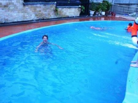 Swimming pool Diamond Suite Serviced Apartment