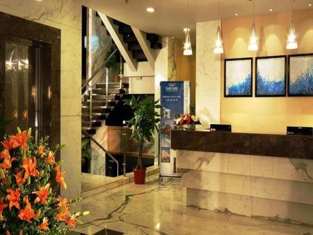 Интерьер Grand Hometel A Sarovar Hotels