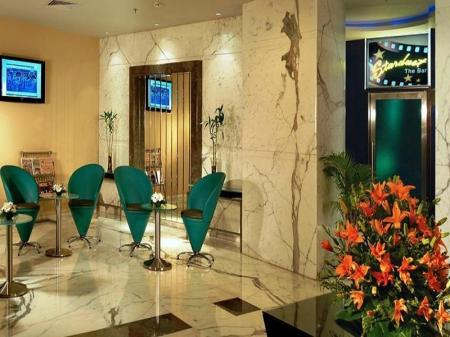 Лобби Grand Hometel A Sarovar Hotels