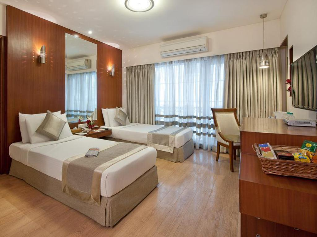 Deluxe Double atau Twin Grand Residency Hotel & Serviced Apartments