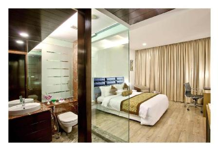 1 King Bed Accessible Room Ramada by Wyndham Powai Hotel & Convention Centre