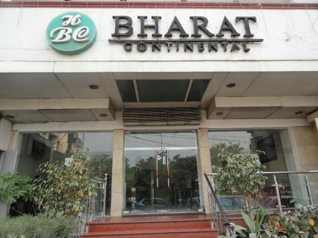 Indgang Hotel Bharat Continental
