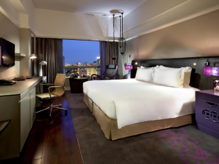 Luxury King Room Sofitel Saigon Plaza Hotel