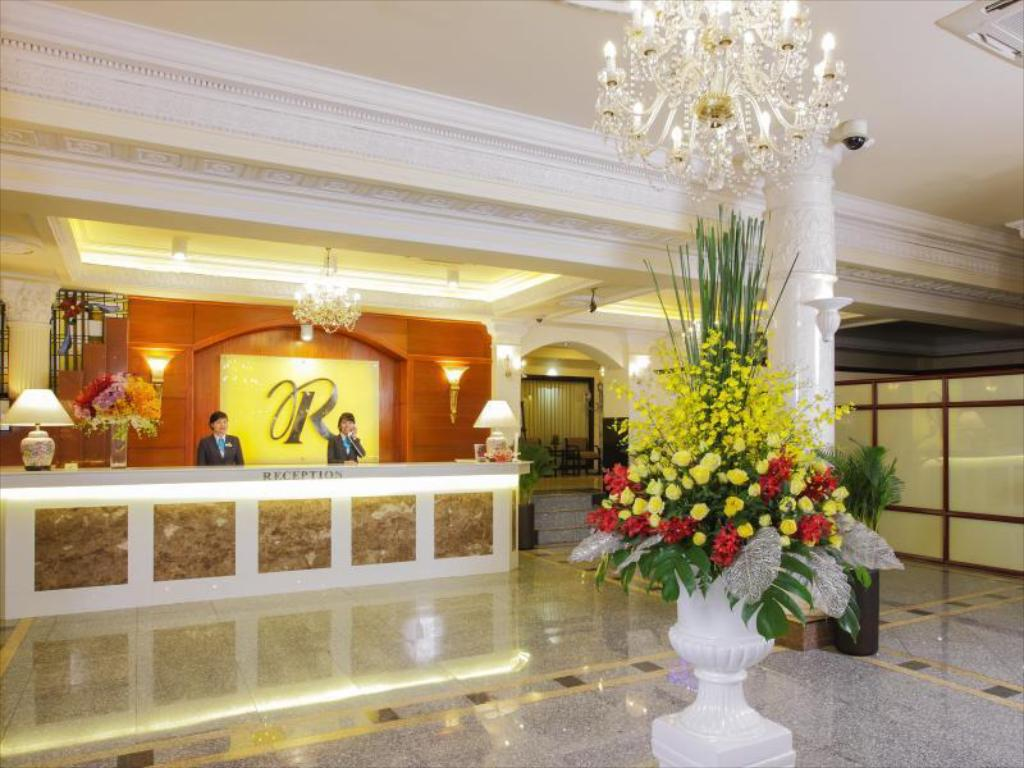 Vestíbulo Royal Hotel Saigon