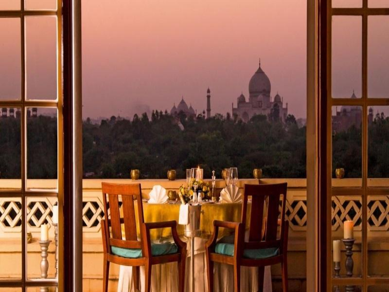 Premier Room with private balcony  and a view of Taj Mahal, Comp WiFi