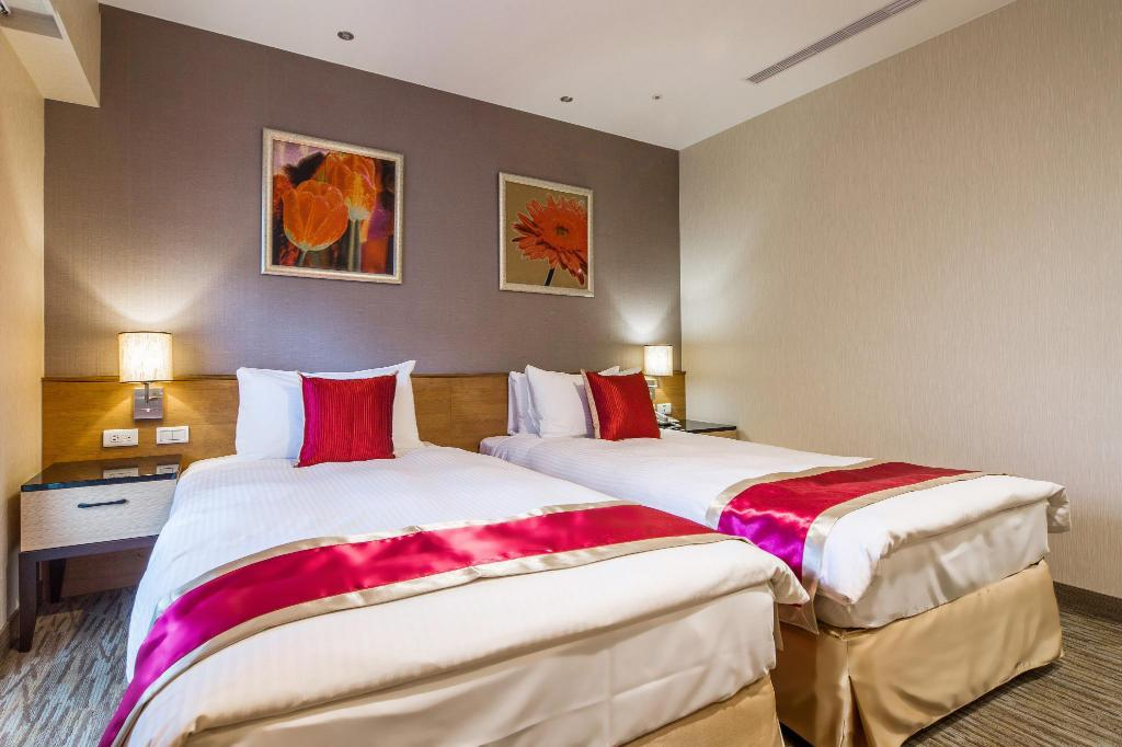 Deluxe Twin Room - Bed Yaward Resort - Taoyuan Golf & Country Club