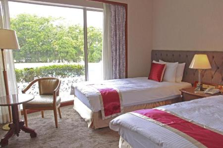 Double Room - Room plan Yaward Resort - Taoyuan Golf & Country Club