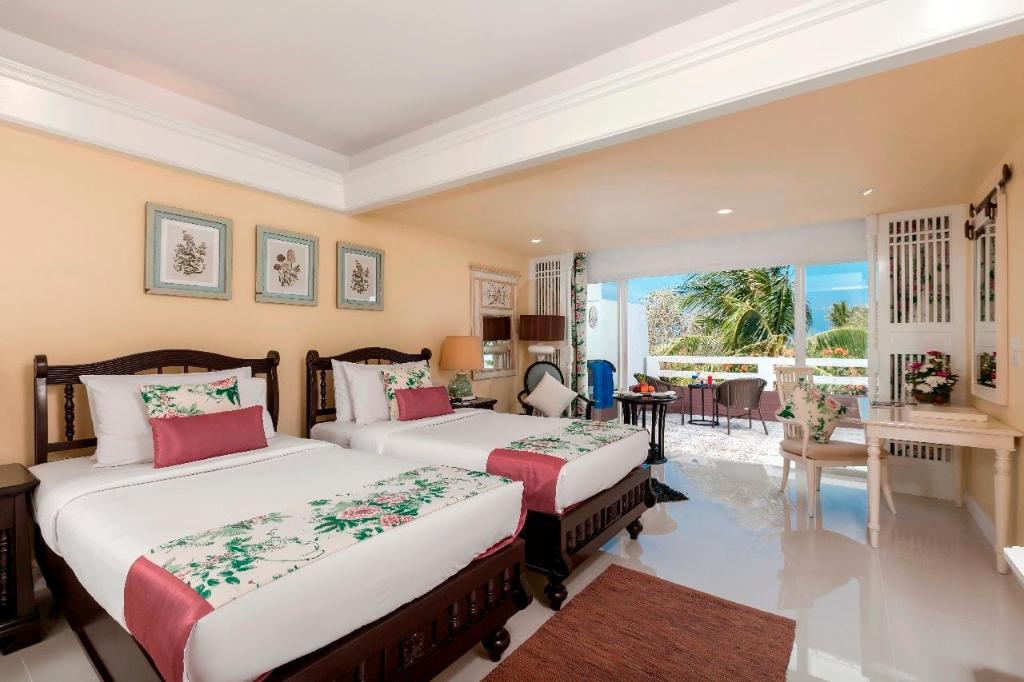 Deluxe kamer - Bed Thavorn Palm Beach Resort Phuket