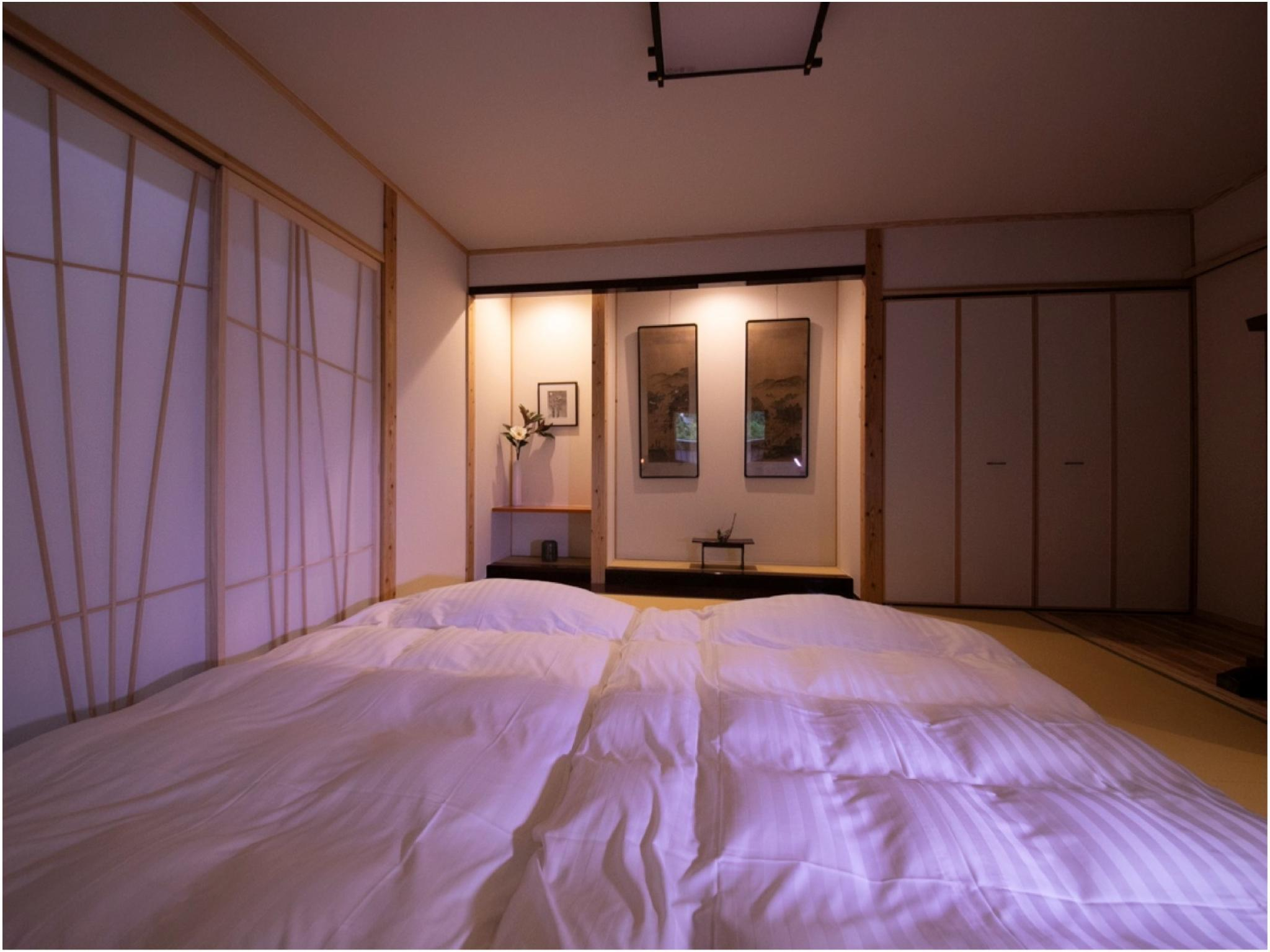 도착 후 배정 플랜(별채/노천탕) *성인한정 (Detached Room with Open-air Bath *Allocated on arrival, Adults only)