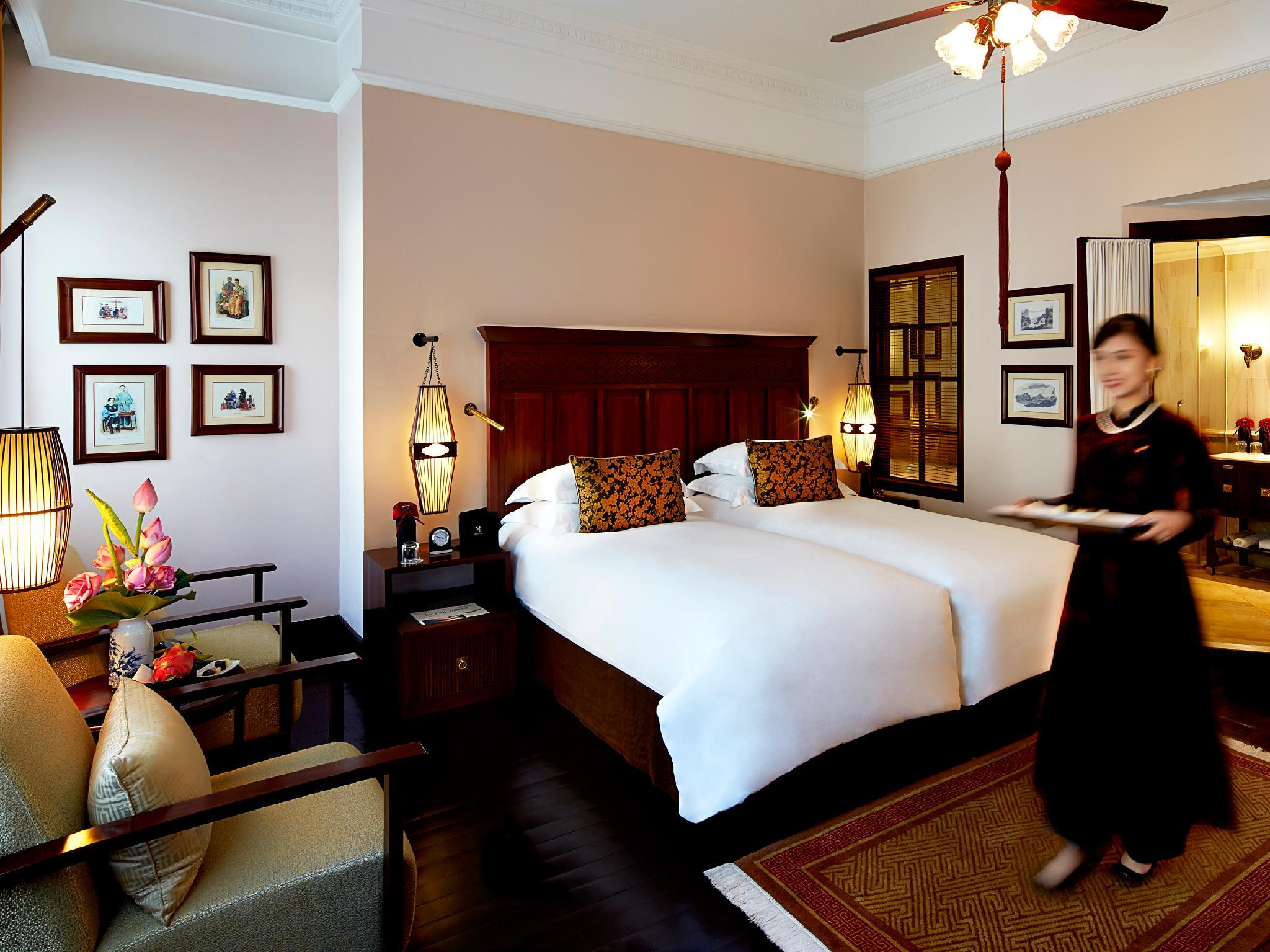 Grand prabangus kambarys Istoriniame sparne su 2 viengulėmis lovomis (Historical Wing Grand Luxury Room 2 Single Beds)