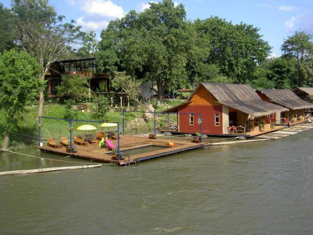 barnpool Boutique Raft Resort River Kwai