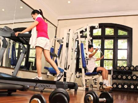 Fitness center Saigon Morin Hotel