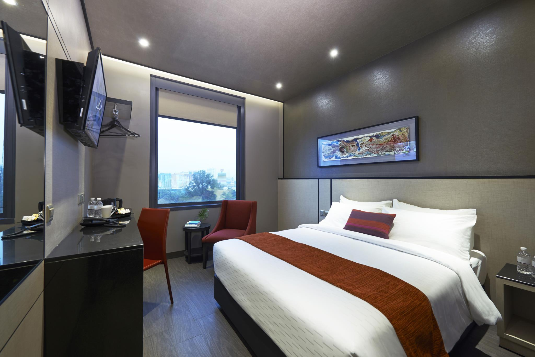 Premier Double Room with Balcony and Western Breakfast