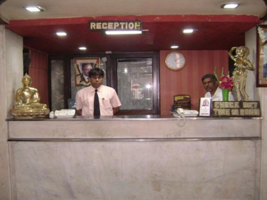 Reception Hotel Heera International