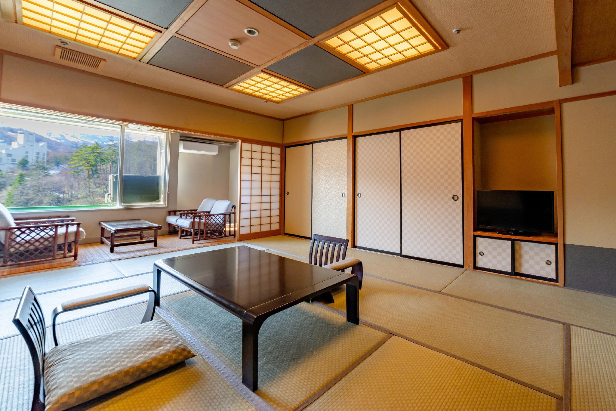 Hot Spring Field View Japanese Style Room for 10 People