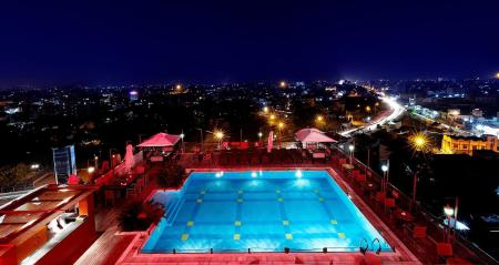 Swimming pool [outdoor] Ramada by Wyndham Jaipur