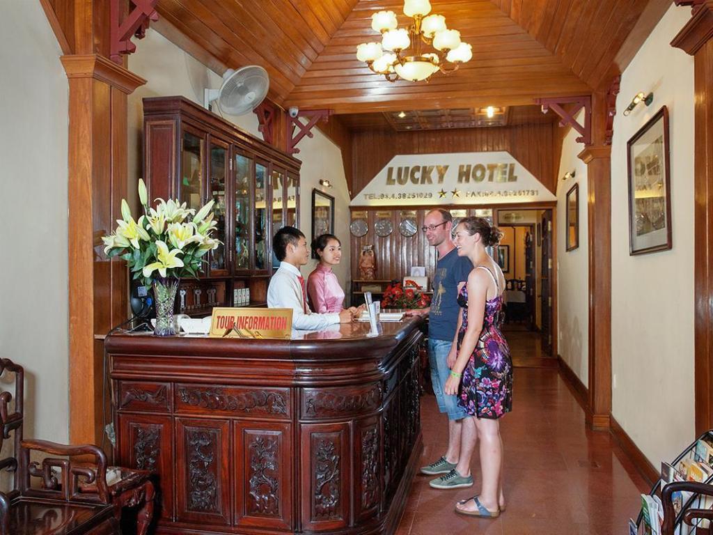 Lucky Hotel Hang Trong Street In Hanoi Room Deals Photos