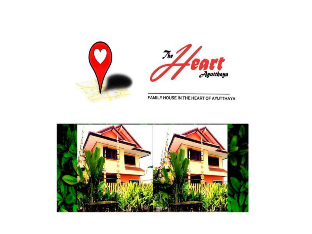 Фасада на хотела The Heart Ayutthaya Holiday Home