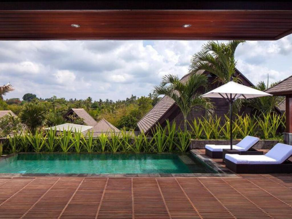 1-Bedroom Garden View Villa with Private Pool The Sanctoo Villa at Bali Zoo
