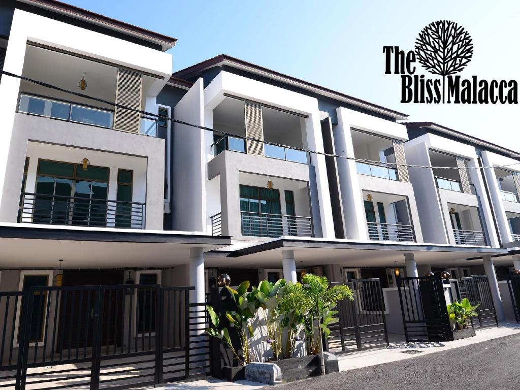Exterior view The Bliss Malacca
