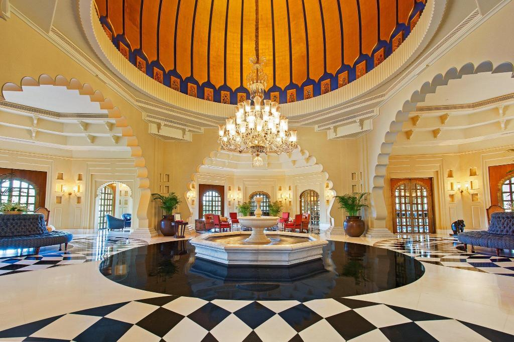 Lobby The Oberoi Udaivilas Udaipur Hotel