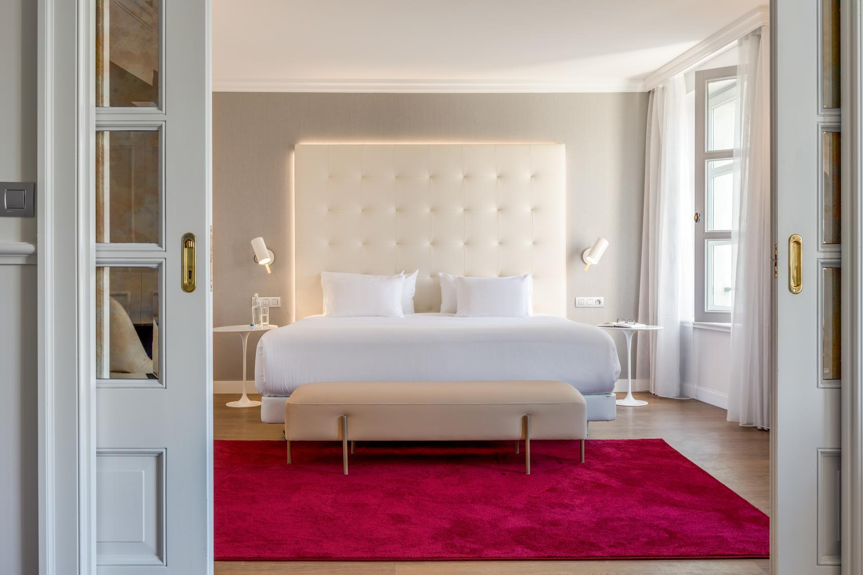 Suite Júnior amb llit supletori i vista ‒ Per a 2 adults i 1 nen (Junior Suite for 2 Adults and 1 Child with Extra Bed and View)