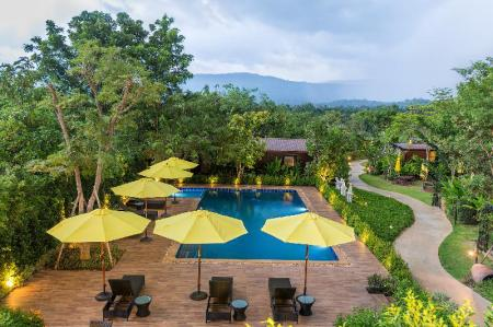 Swimming pool [outdoor] Limon Villa Khao Yai