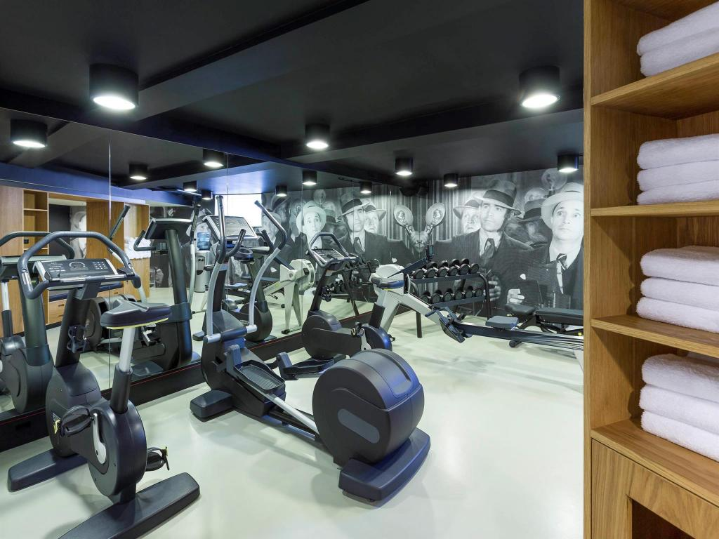 Fitness center Ink Hotel Amsterdam - Mgallery Collection