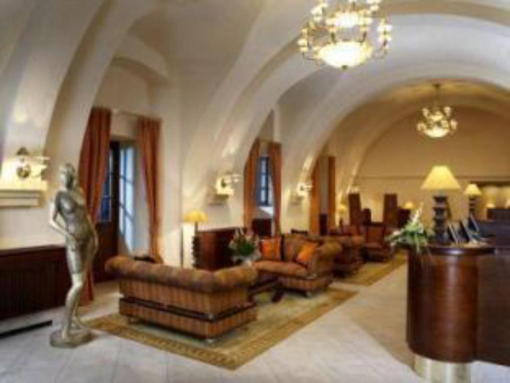ردهة فندق ليندنر براغ كاستل (Lindner Hotel Prague Castle)