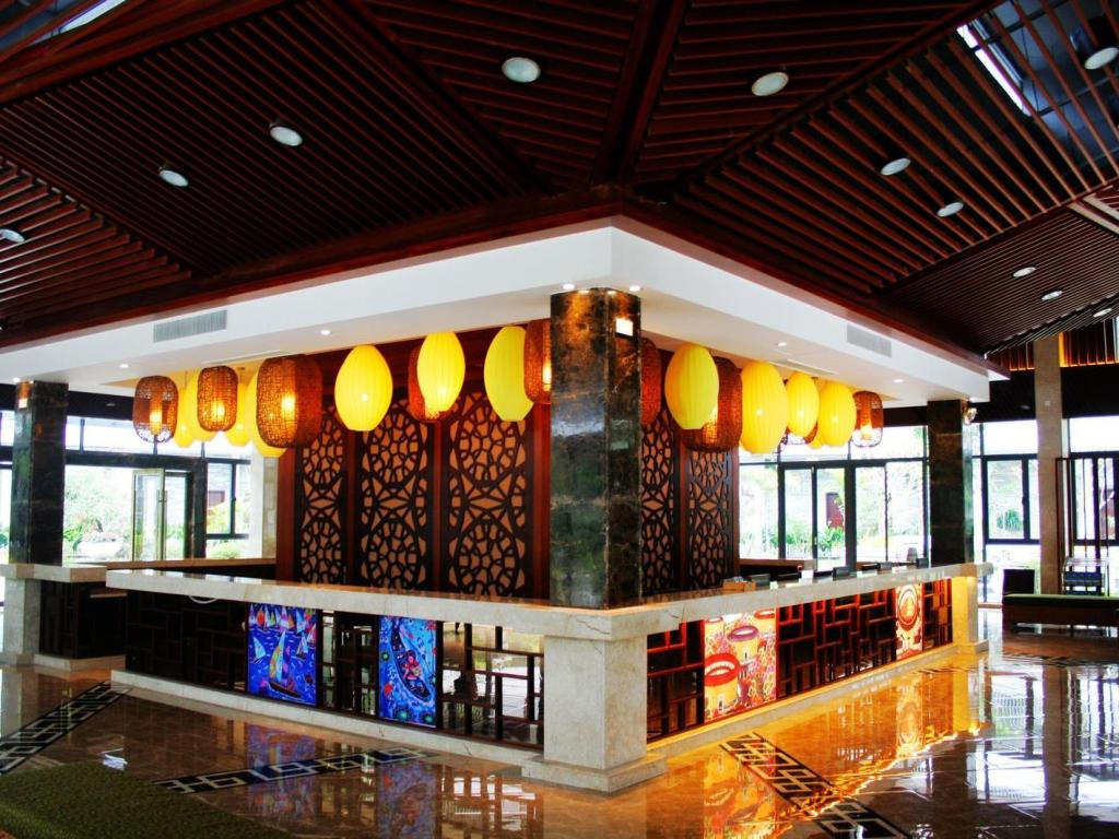 Lobby Longmen Natural Hotspring Resort